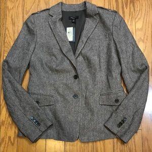 NWT Ann Taylor wool/rayon blazer